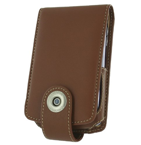 Covertec SX215/03 Tan Leather Case for BlackBerry 8800 Series