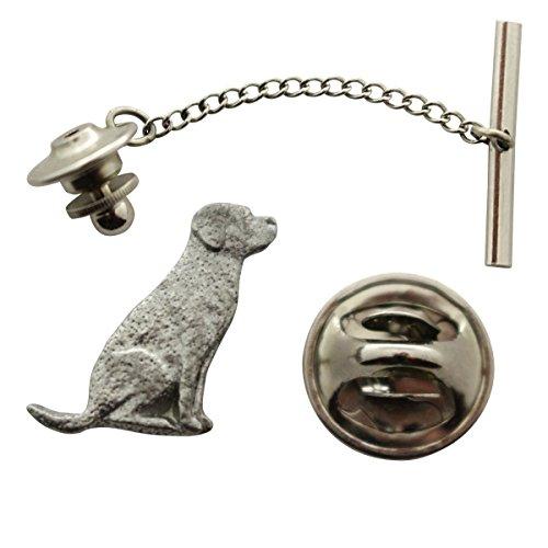 Labrador Tie Tack ~ Antiqued Pewter ~ Tie Tack or Pin ~ Sarah's Treats & Treasures by Sarah's Treats & Treasures