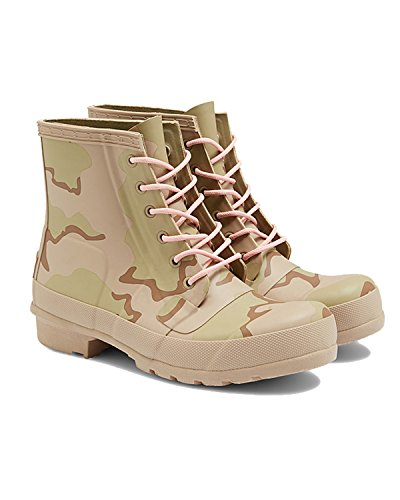 Jägare Kvinna Ursprungliga Gummi Spets-up Desert Camo Boots Wfs1060rdc Psa