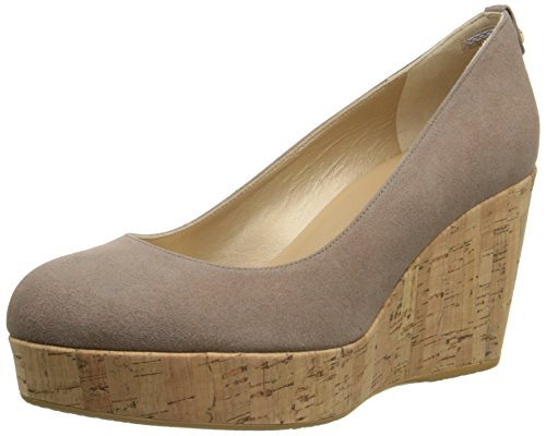 Stuart Weitzman Women's York Wedge Sandal, Haze, 10 M - Stuart Platform Wedge Weitzman Shoes