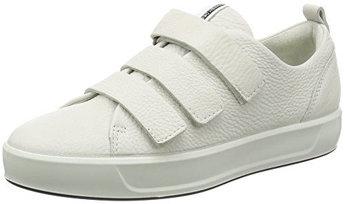 Blanc Soft White Ecco Basses 8 Femme 41 EU Ladies Sneakers ZqxYdap