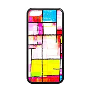Abstractionism Fringe Custom Cases for iphone 5c TPU (Laser Technology)