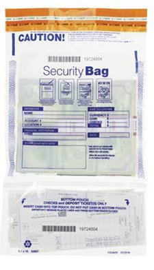 EGP Vertical Twin Deposit Bag 10 x 15