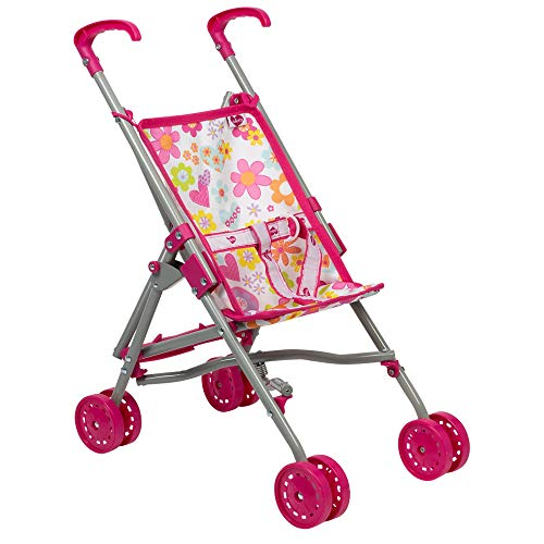 es My First Doll Small Umbrella Toy Play Stroller for Kids 3 years & up ()