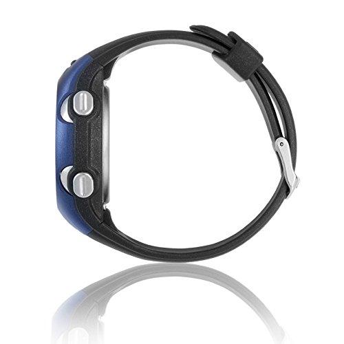 Spovan Blue Heart Rate Monitor Digital Smart Wrist Watch