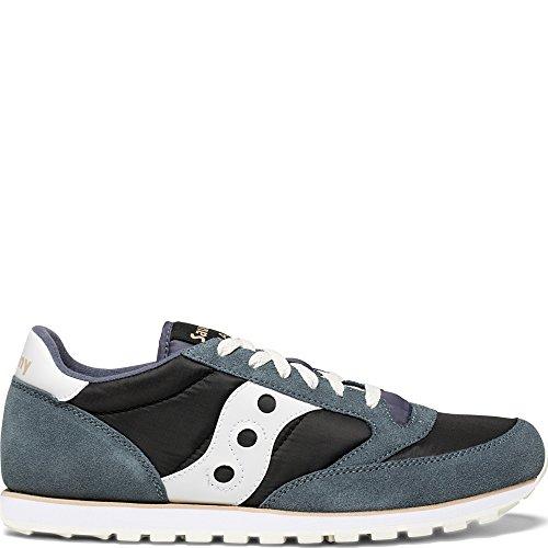 Saucony Originals Men's Jazz Low Pro Running Shoe, Grey/White, 11 Medium - Saucony Classic Shoes