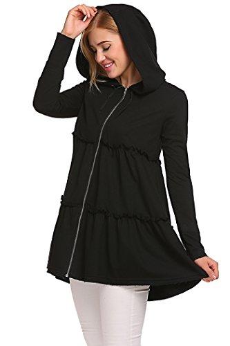 Xxl Zip Hoodie Sweatshirt - 3