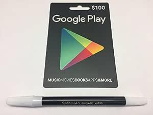 Desconocido Google Jugar Tarjeta de Regalo de $100 Prepago ...