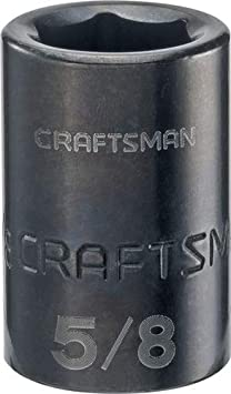 CMMT15855 SAE CRAFTSMAN Shallow Impact Socket 13//16-Inch 1//2-Inch Drive