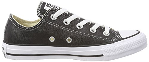 Converse Chuck Taylor Core Lea Ox, Sneaker Unisex adulto nero