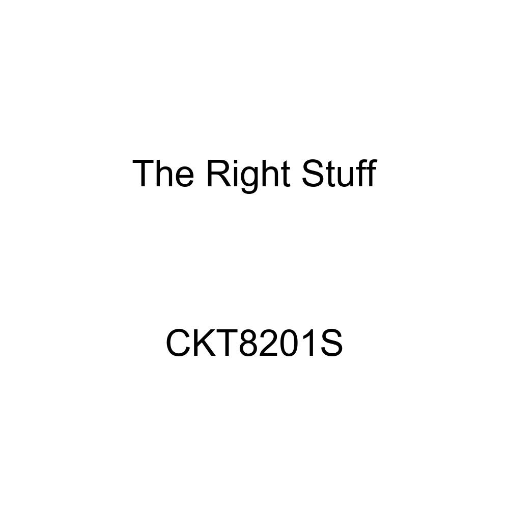 The Right Stuff CKT8201S Stainless Front Brake Line Kit 4 Piece