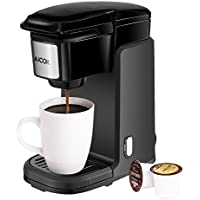 Aicok 800W Single Serve Coffee Brewer For K Cup Pods