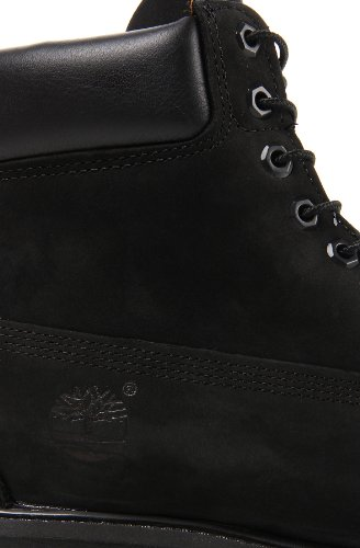 Homme Timberland AF 15,2cm Prem BT Noir Fashion en cuir noir cheville bottes