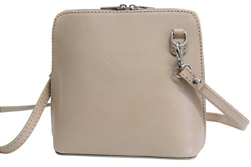 Ambra Women Fashion Shoulder Bag - Shoulder Bags Small Leather Nature Vl508