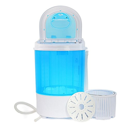 New Portable Mini Washer Machine 8lbs Compact Laundry Spin Dry Cycle Dorm Camping RV (Dry Washer Machine)