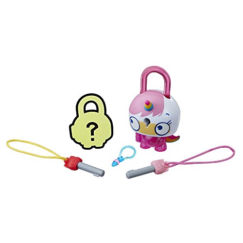 Basic Assortment - Lock Stars Basic Assortment Pink Cat-Unicorn -- Series 1