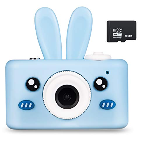 Abdtech Kids Camera Bunny Gifts for 3-8 Year Olds, Children Digital Cameras -