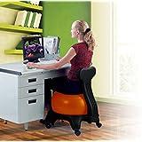 C&K Chaise avec ballon pour équilibre et bien être