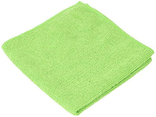 ALL RAGS All MFMP12 Length X Width, Green, Microfiber 12 Wiping Cloth