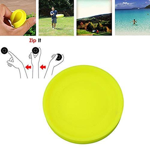 Mini Silicone Flying Discs Game Toy, Pet Dog Flying Disk by Lightweight Material Perfect for Small Dog Breeds and Pets | Interactive Flying Disc for Pups ()