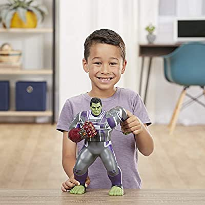 Avengers Feature Hero Power Punch Hulk: Toys & Games