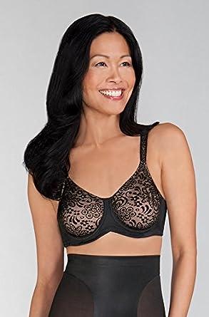 Amoena Annette Underwired Mastectomy Bra - black size 34F at Amazon ... 074dad276