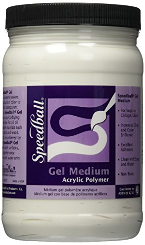 Speedball 32 Ounce Gel Medium Quart product image