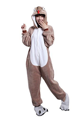 Solid Snake Costume For Sale - Apiidoo Unisex Snake Costumes One Piece Animal Cosplay Pajamas Sleepwear Pyjamas M