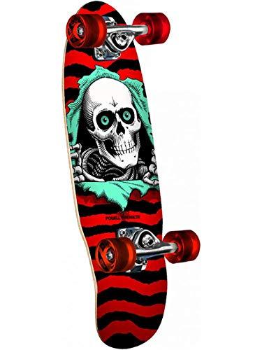 Powell-Peralta Micro Ripper Red Complete Skateboard