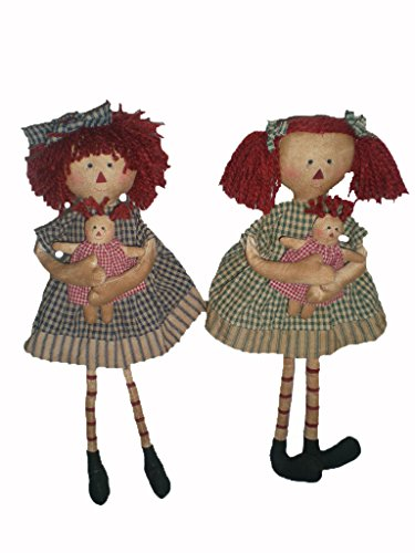10-Inch Craft Outlet Happy Fall Primitive Scarecrow Figurine