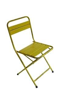 Woodstock Chimes NACH Th-4471-G Green Vintage Folding Chair