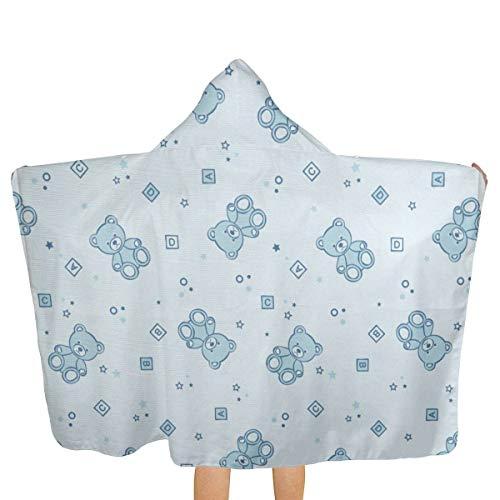 - Dabodayo Teddy Bears and Toys Hooded Beach Towels,Pool Bath Towel Soft Microfiber Multi-Purpose Poncho Swim Cover Changing Robe Fun Multi-use for Bath Shower Pool Swim 32x52 Inch Kids