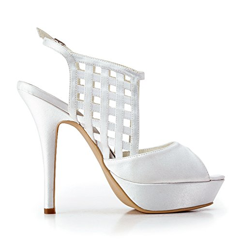 12cm White Heel pour femme Escarpins Minitoo Oq4tII