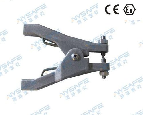 Anysafe SC-01 Static Grounding Aluminium Hand Clamp(FM Approved)