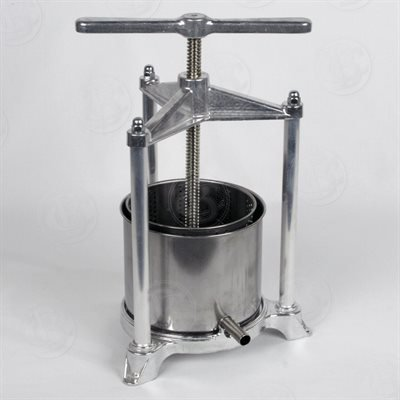 (Fruit Press - Italian, 3 Liter, Stainless Steel by Brewcraft)
