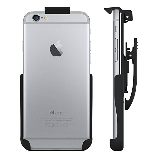 Seidio Spring-Clip Holster for Non-Cased iPhone 6/6s - Retail Packaging - Black