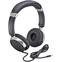 Auvio Black Headphones with Mic