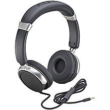 Auvio Black Headphones with Mic