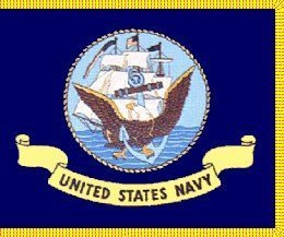 Annin Flagmakers 439115 3 ft. X 5 ft. U.S. Navy Flag with Fr