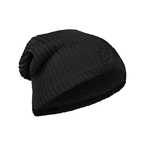 Drip Original Black Unisex Solid amp; Unica Polar Buff Hat Knitted Drip Color Adulto Black Talla OAwqdO7B