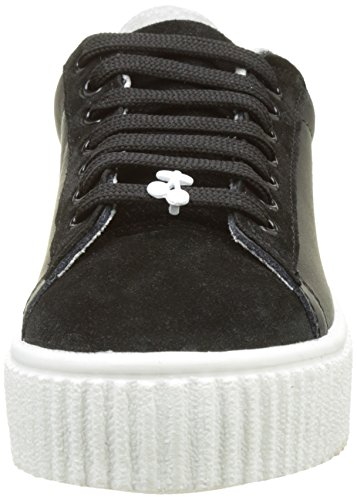 black basse Sneakers Nero bianco Cherry Talys Time Donna SwpEIE