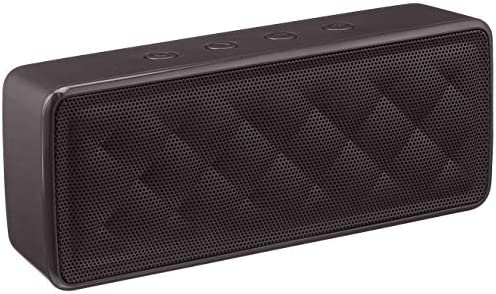 Amazon Fundamentals Transportable Wi-fi, 2.1 Bluetooth Speaker, Black