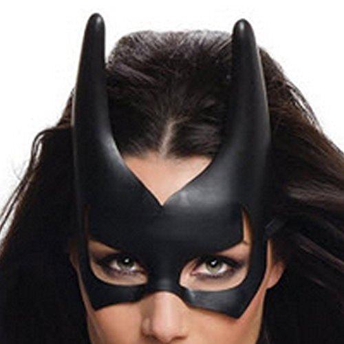 Batgirl Mask Black