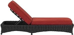 Amazon.com: Martha Stewart Living153; Lake Adela Chaise ... on Martha Stewart Living Chaise Lounge id=19278