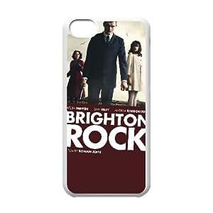 Alta resolución C5Q66 Brighton Rock Cartel Y8H8GQ funda iPhone funda caso 5c teléfono celular cubren DK2EPZ5GP blanco