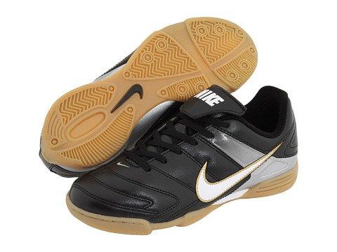 Black//White//MetallicSilver Nike Jr Park II IC US 1.5y M