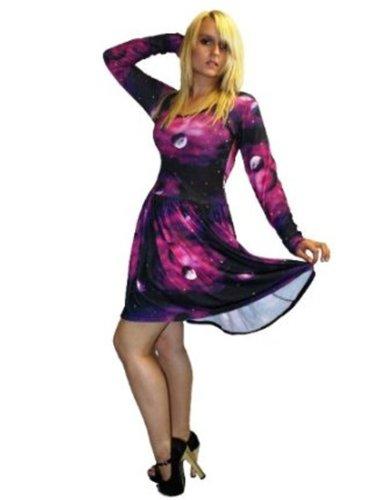 InsanityDamen Kleid Violett Violett