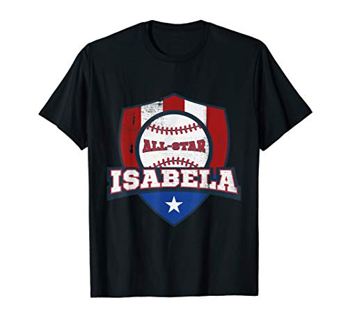 (Isabela Puerto Rico Camisa Puerto Rican PR Baseball Shirt)