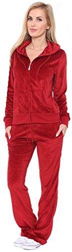 Velour Jacket Pants - 1
