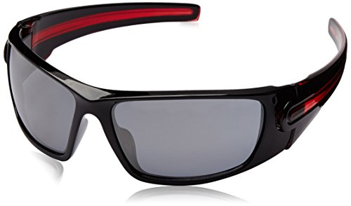 Star Wars Adult Galactic Empire Wrap Sunglasses, Black & Red, 70 mm by Foster - Vader Sunglasses Darth